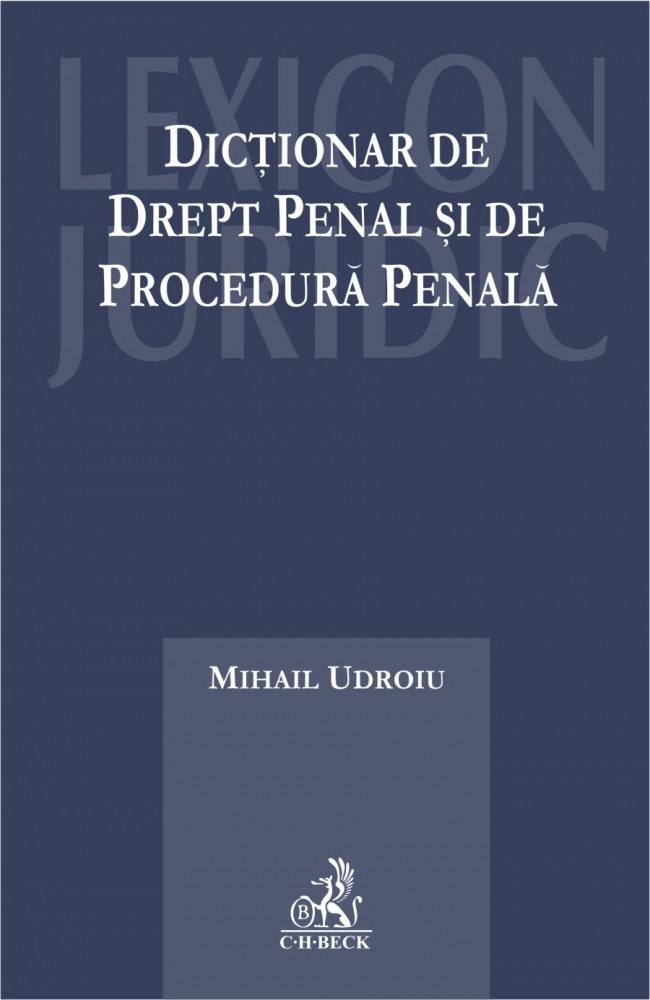 DICTIONAR DE DREPT PENA PENAL SI DE PROCEDURA P