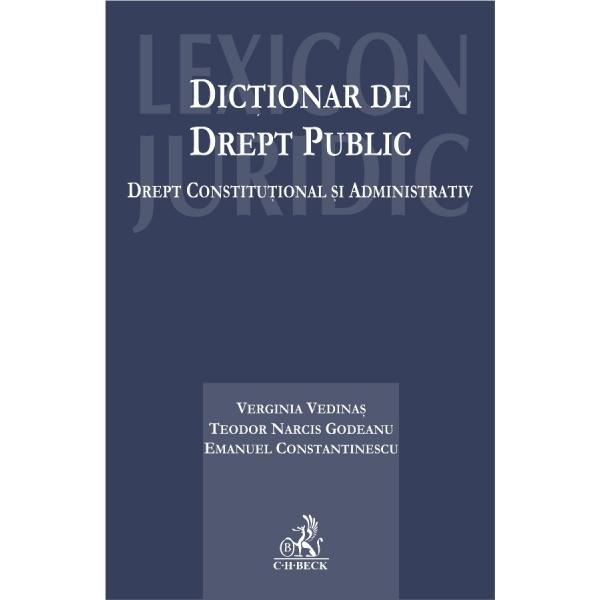 DICTIONAR DE DREPT PUBL IC