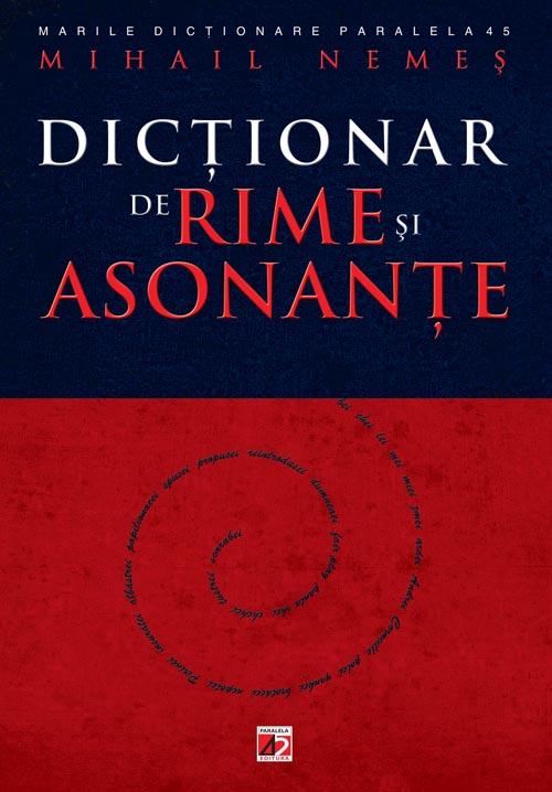 DICTIONAR DE RIME SI ASONANTE