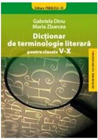 DICT. DE TERMINOLOGIE LIT. CL.V-X, ED.6