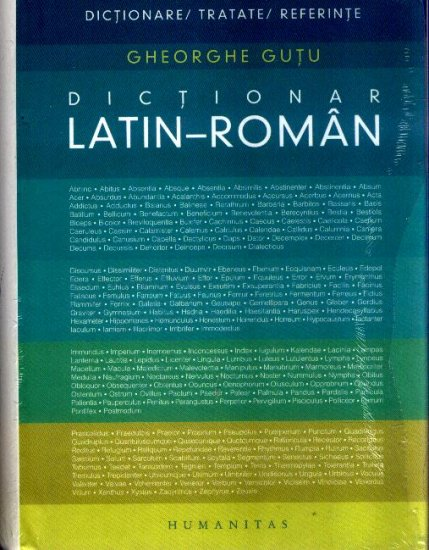 DICTIONAR LATIN-ROMAN REEDIT