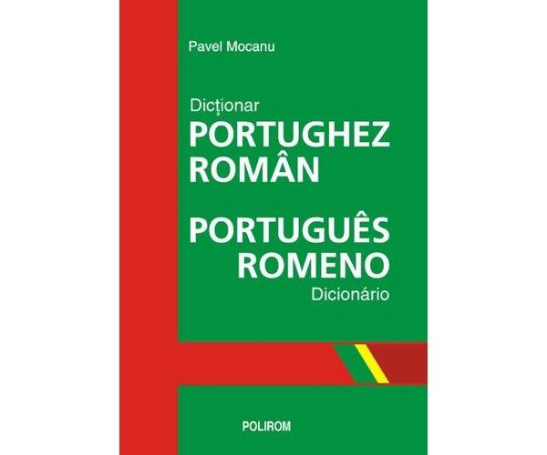 DICTIONAR PORTUGHEZ-ROMAN EDITIE CARTON