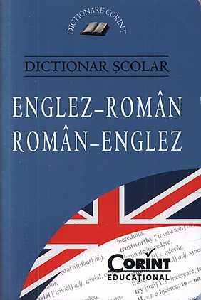 DICTIONAR SCOLAR ENGLEZ-ROMAN...