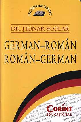 DICTIONAR SCOLAR GERMAN-ROMAN...