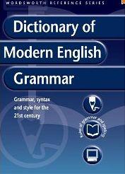 Dictionary of modern english grammar