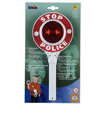 Disc politist cu lumina intermitenta