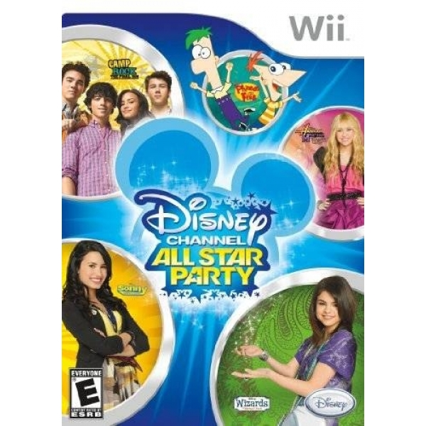 DISNEY ALL STARS PARTY WII