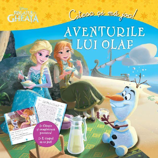 DISNEY. CITESC SI MA JOC. REGATUL DE GHEATA. AVENTURILE LUI OLAF