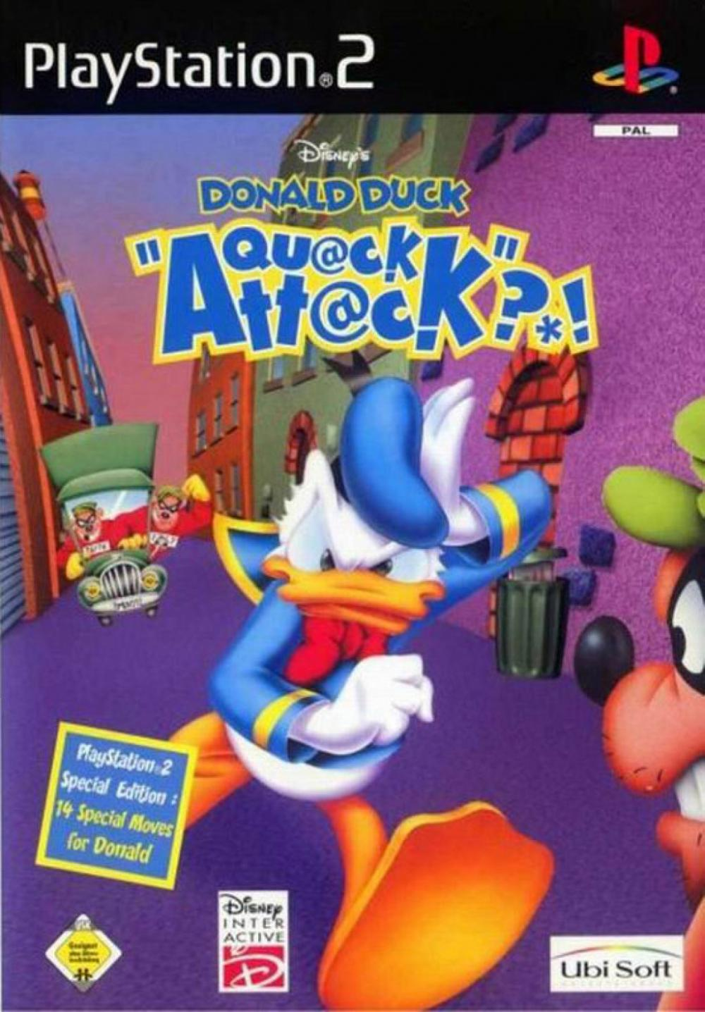 DISNEY DONALD DUCK QUAC PS2