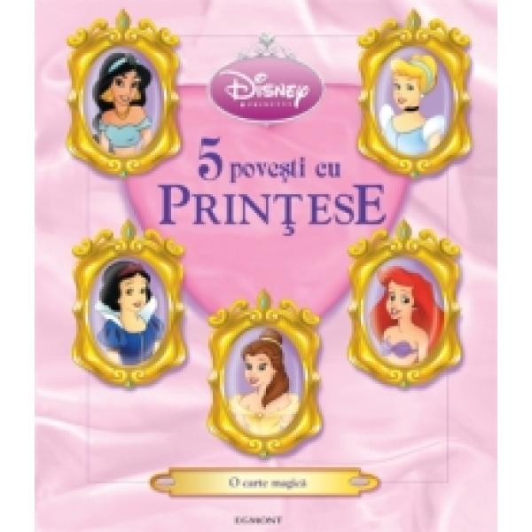 DISNEY PRINCESS - ALTE 5 POVESTI CU PRINTESE