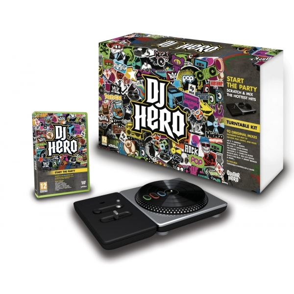 DJ HERO - COMPLETE BUND WII
