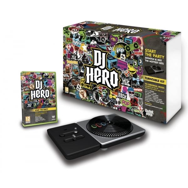 DJ HERO COMPLETE BUNDLE PS3