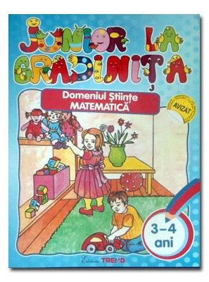 DOMENIUL STIINTE MATEMATICA 3-4 ANI