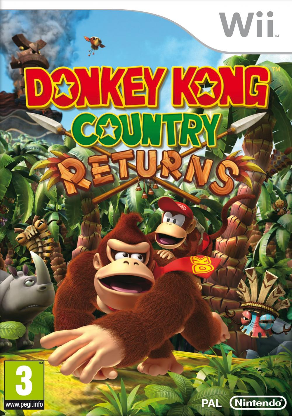 DONKEY KONG COUNTRY RET WII