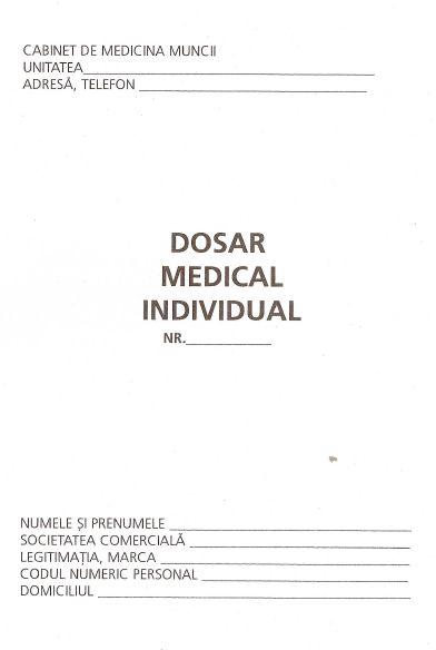 Dosar medical+fisa aptitudine,A5