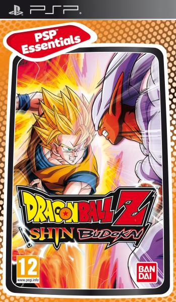 DRAGON BALL Z SHIN BUDOKAI PSP ESSENTIAL