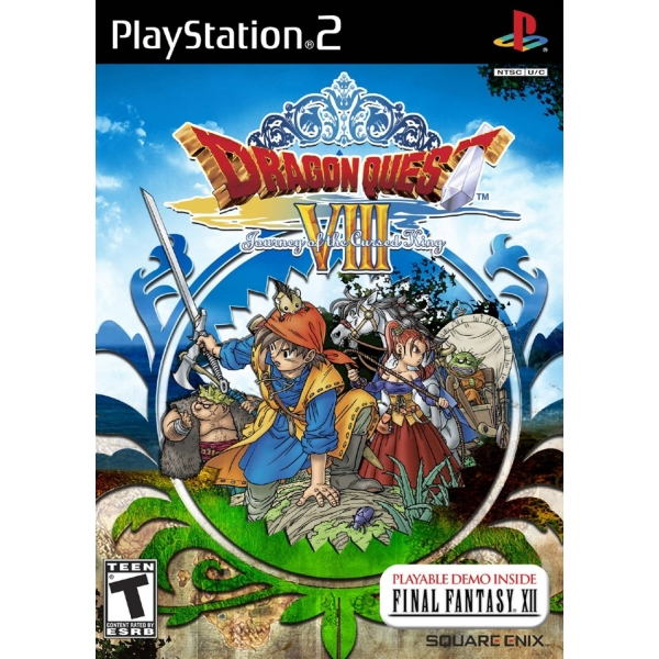 DRAGON QUEST 8 PS2