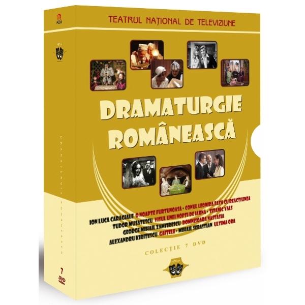 DRAMATURGIE ROMANEASCA COLECTIE 7 DVD