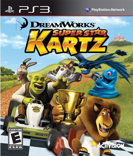 DREAMWORKS SUPER STAR KARTZ - PS3