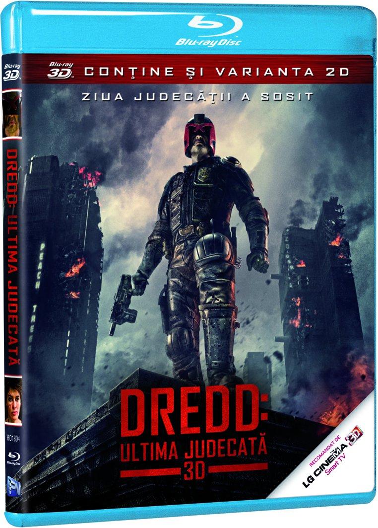 BD-DREDD: ULTIMA JUDECATA 3D-BD-DREDD 3D
