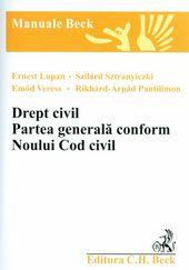 DREPT CIVIL PARTEA GENERALA CONFORM NOULUI COD CIVIL