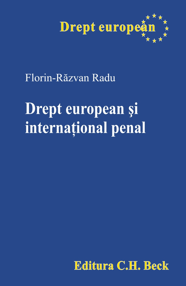 DREPT EUROPEAN SI INTERNATIONAL PENAL
