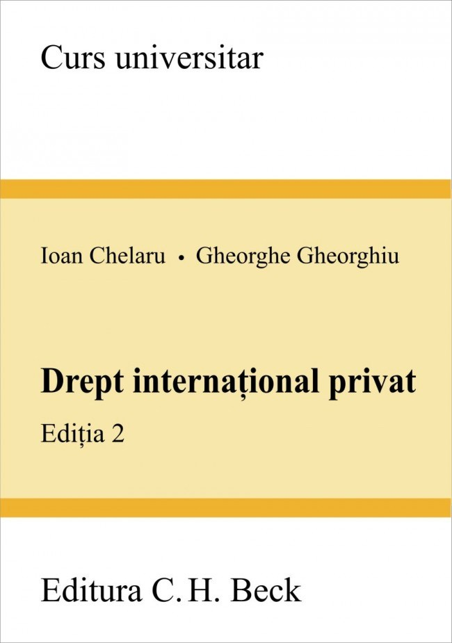 DREPT INTERNATIONAL PR IVAT. ED. II