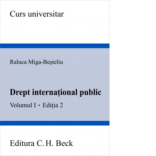 DREPT INTERNATIONAL PUB LIC.VOL.I ED. 2