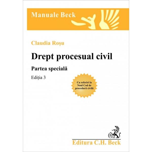 DREPT PROCESUAL CIVIL PARTEA SPECIALA