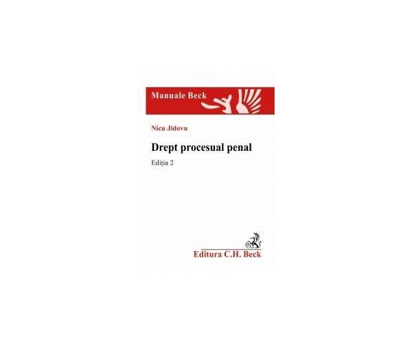 DREPT PROCESUAL PENAL E D 2 - JIDOVU