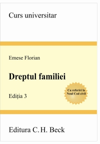 DREPTUL FAMILIEI. ED. 3 .