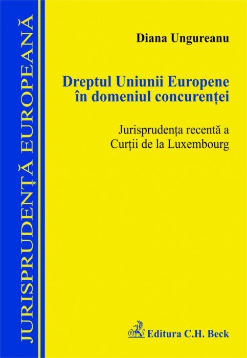 DREPTUL UNIUNII EUROPEN E IN DOMENIUL CONCURENT