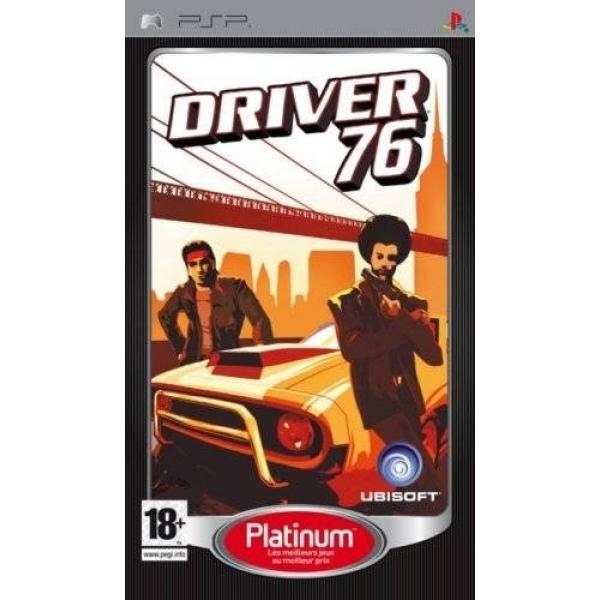 DRIVER 76 PLATINUM PSP