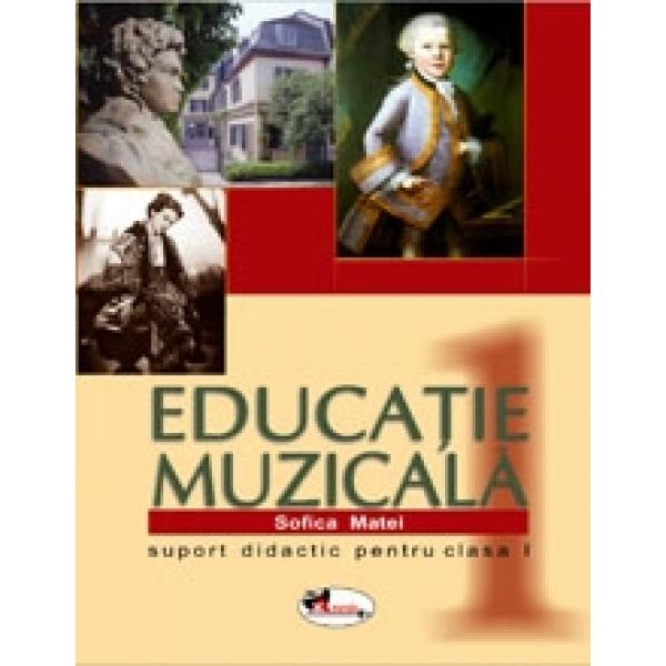 Educatie muzicala, Suport didactic pentru clasa a I, Sofica Matei