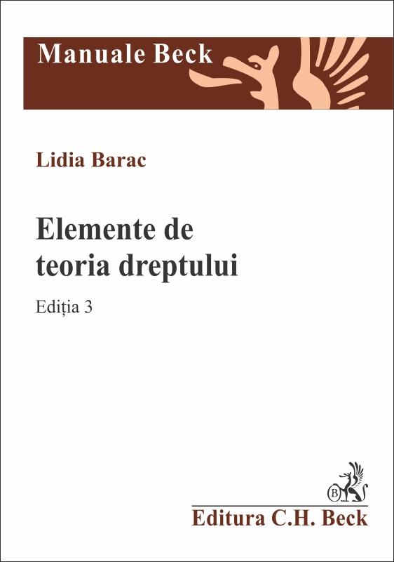 ELEMENTE DE TEORIA DREPTULUI EDITIA 3