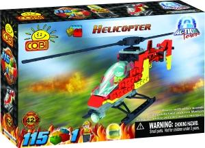 zzElicopter de pompieri, 115 pcs. Cobi