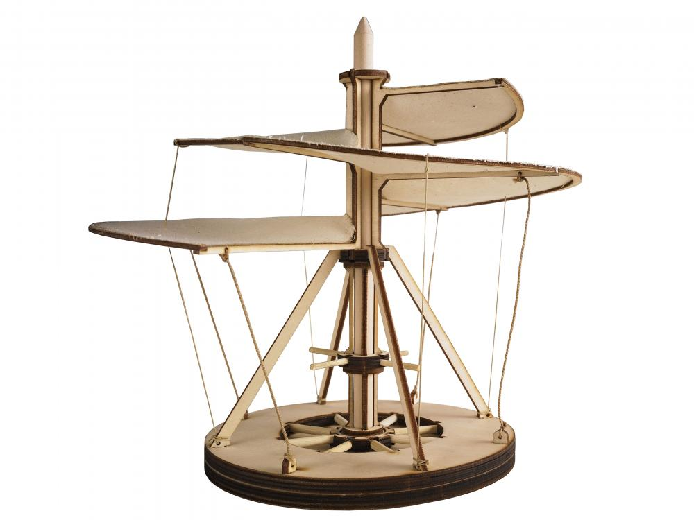 Elicopter lemn Leonardo da Vinci