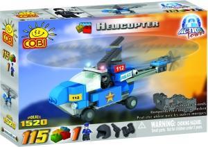 zzElicopter politie, 115 pcs. Cobi