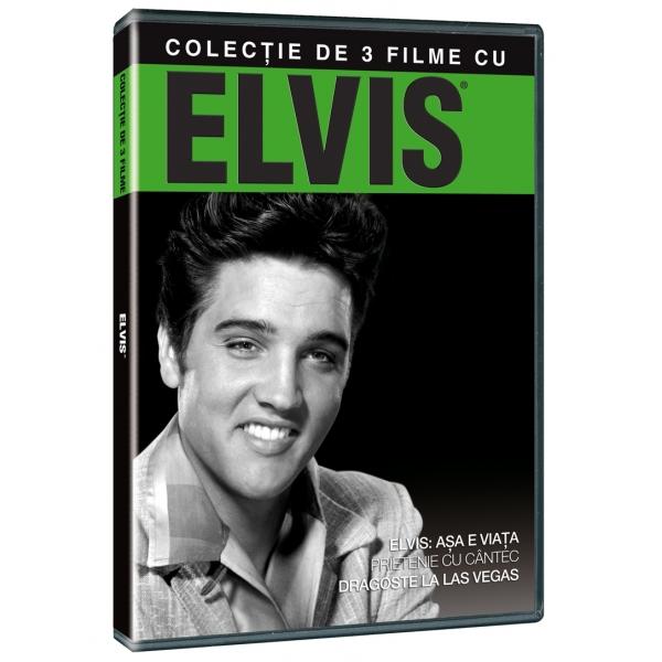 ELVIS: THAT'S THE WAY IT IS /  JAILHOUSE ROCK /  VIVA LAS VEGAS-COLECTIE 3 FILME: ELVIS