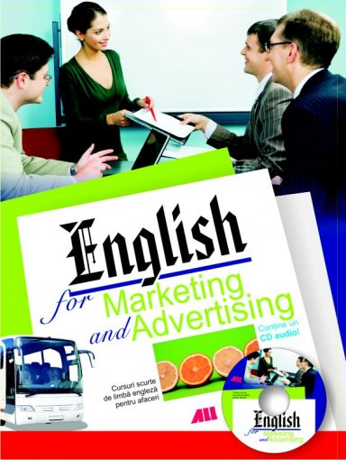 ENGLISH FOR MARKETING AND ADVERTISING+CD