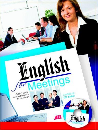 ENGLISH FOR MEETINGS+CD