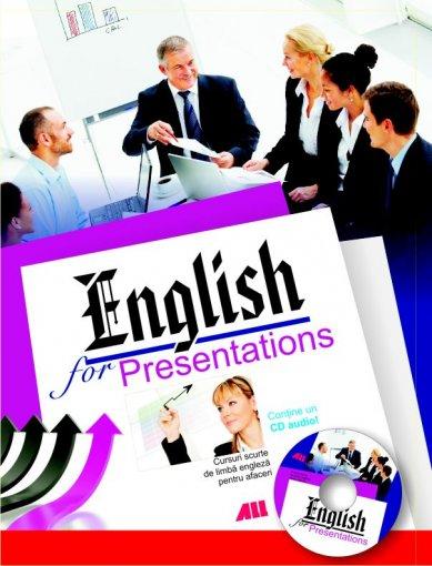 ENGLISH FOR PRESENTATI ONS+CD