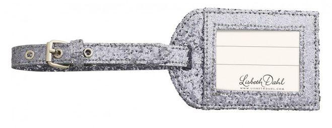 Eticheta bagaj Lisbeth Dahl,gri,25cm 009