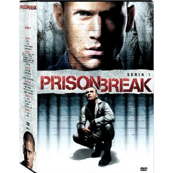 EVADAREA-SERIA 1(6 disc PRISON BREAK-SEASON 1(6