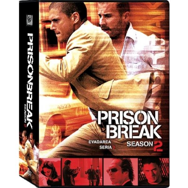 EVADAREA-SERIA 2(6 disc PRISON BREAK-SEASON 2(6