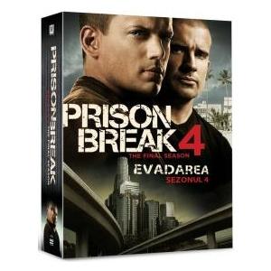 EVADAREA - SERIA 4 (1DV PRISON BREAK  - THE FIN