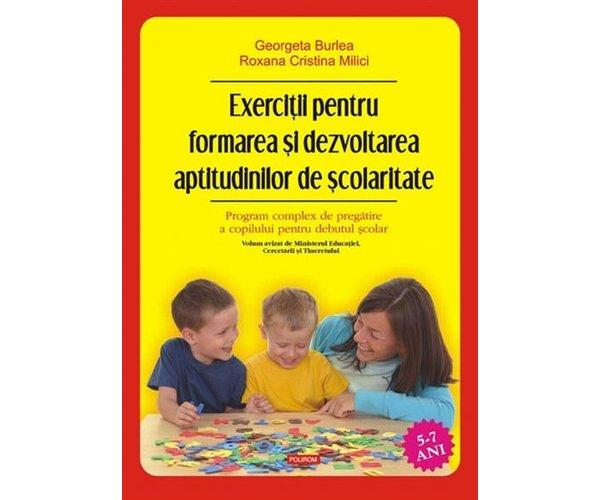 EXERCITII PENTRU FORMAREA SI DEZVOLTAREA APTITUDINILOR DE SCOLARITATE