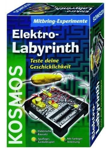 Experimente pentru acasa, Labirintul electric