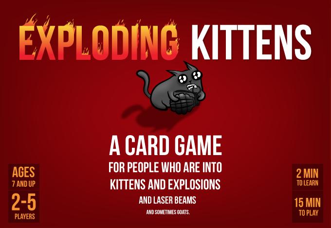 Exploding Kittens - cutie MIAU
