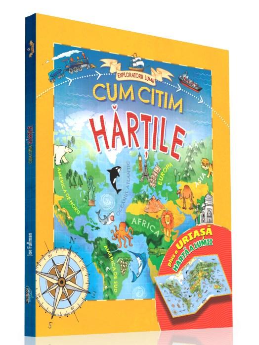 EXPLORATORII LUMII- CUM CITIM HARTILE
